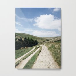 A trail in the peak district Metal Print