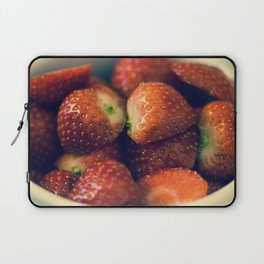 Strawberry fields forever.... Laptop Sleeve