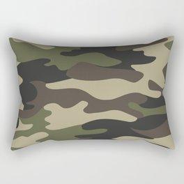 military camouflage-4k Rectangular Pillow