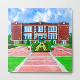 Andalusia City Hall - East Three Notch Memories Metal Print