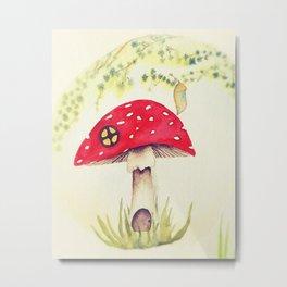 Toadstool  Metal Print