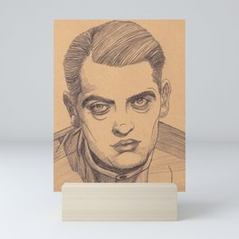 luis buñuel portrait Mini Art Print