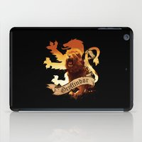 gryffindor iPad Cases featuring Gryffindor by Markusian