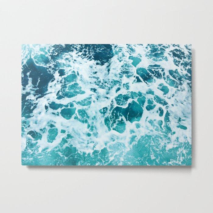 Ocean Splash IV Metal Print