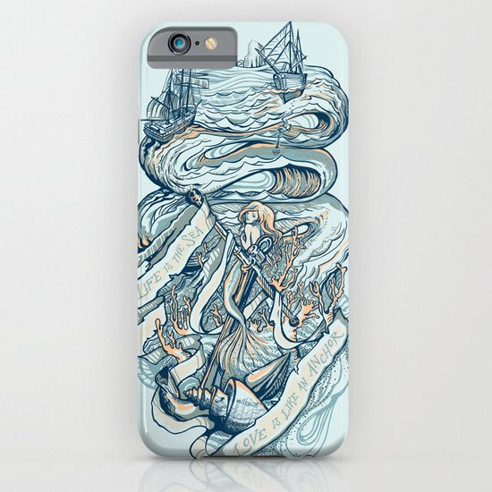 Life & Love at Sea iPhone & iPod Case