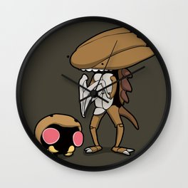 Pokémon - Number 140 and 141 Wall Clock