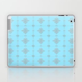 Encore Deco (light blue-silver) Laptop & iPad Skin