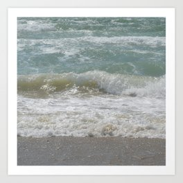 Loving the Waves number 5 Art Print