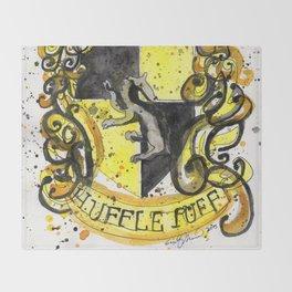 Hufflepuff Throw Blanket