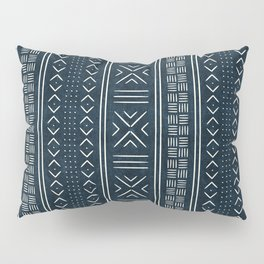 mud cloth indigo Pillow Sham