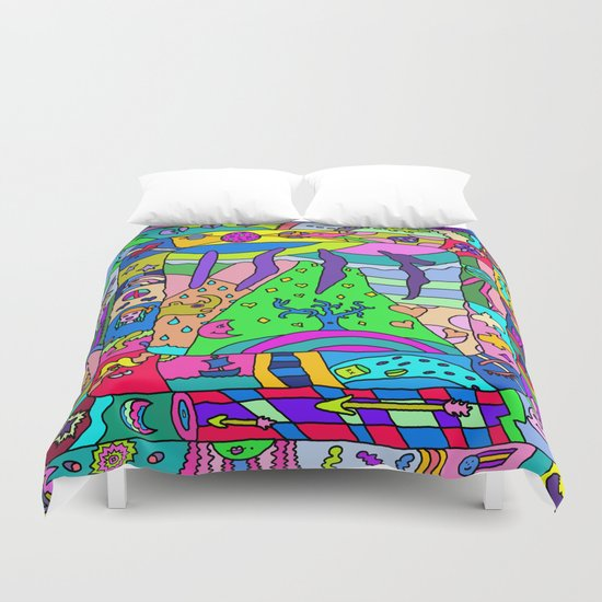 Abstract 14 Duvet Cover