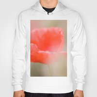 poetry Hoodies featuring Poppies poetry by Kathleen Schulze