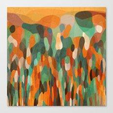 Tropical Meeting Canvas Print