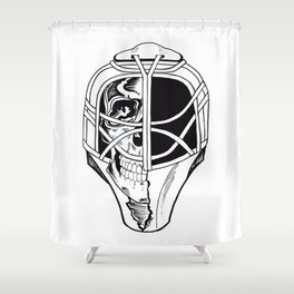 Sculp in hemlet Shower Curtain