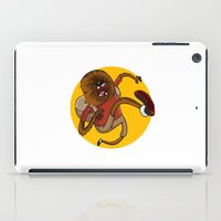 chewbacca iPad Cases featuring Chewbacca traveler by Alex Fadeev