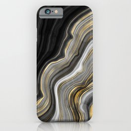 Agate Texture 10 iPhone Case