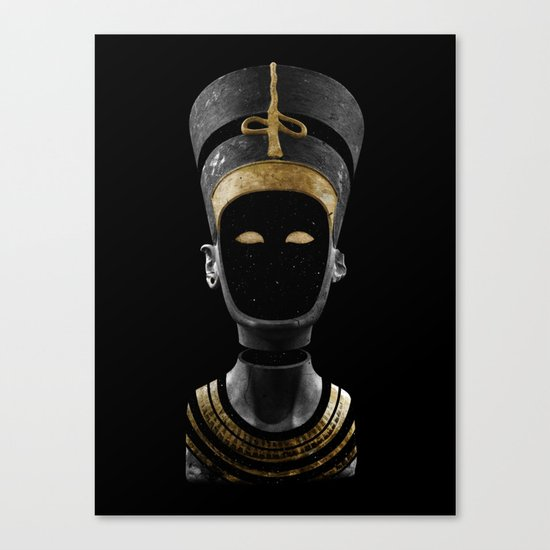 Nefertiti AD (revisited) Canvas Print