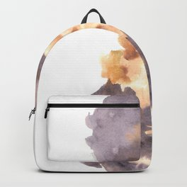Soft Texture Watercolor | [Grief] Heaviness Backpack