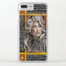Dolly  Clear iPhone Case
