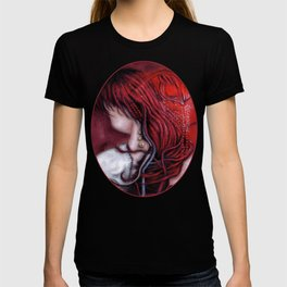 my heart soars like a blood red artifact T-shirt