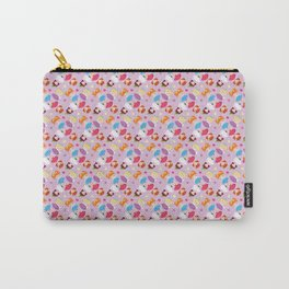 Polly Pocket Pattern Carry-All Pouch