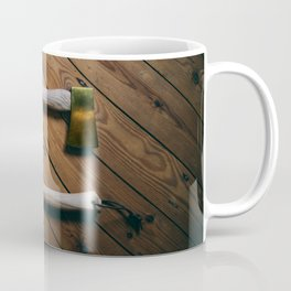 Gold and Copper Axes Coffee Mug