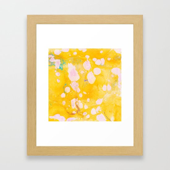 speckled marble | yellow by sunshinecanteen