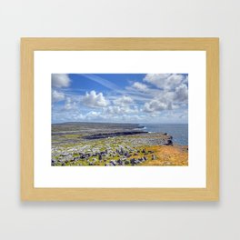 Aran Islands in Ireland Framed Art Print