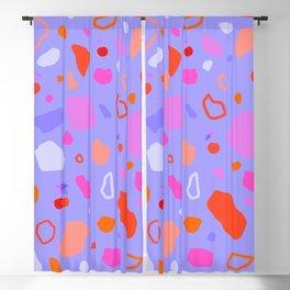 Sweet Terrazzo Cherries Blackout Curtain