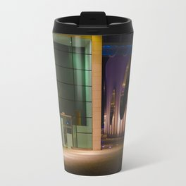 Graphic city architecture Travel Mug