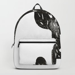 Stamped Cactus Backpack
