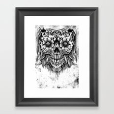 Madame of nature Framed Art Print