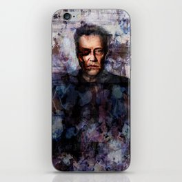 Christopher Walken Terminator iPhone Skin