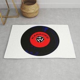 Karaoke 45 RPM Disc Rug