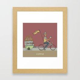 Keeping Coffee Organic Framed Art Print