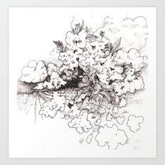 Ghost Crops Art Print