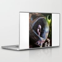 ripley Laptop & iPad Skins featuring alien ripley painting by John Mungiello