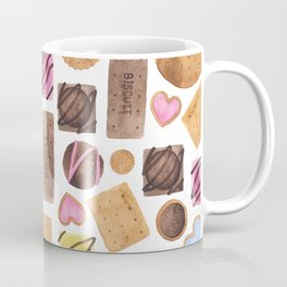 Selection of Sweets, Candy, Cakes and Biscuits Coffee Mug