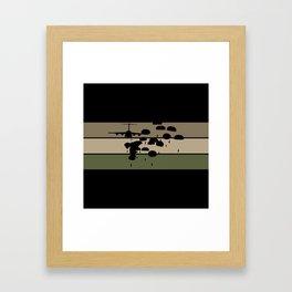 Airborne Jump Framed Art Print