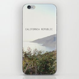 california republic iPhone Skin
