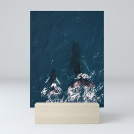 Ocean Family Whales Mini Art Print