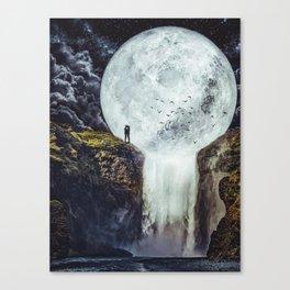 Romantic Moon by GEN Z Canvas Print