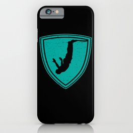 Bungee Jumping Adrenaline Kick iPhone Case