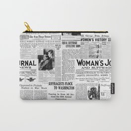 MAKING AMERICA GREAT - WOMEN'S SUFFRAGE Carry-All Pouch