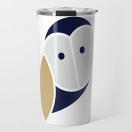 Thoughtful Wise Owl Travel Mug