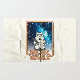 Bear Wars Vintage - Bear Trooper Rug