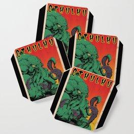 Vintage Cthulhu Coaster