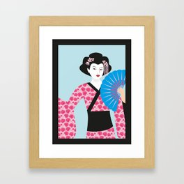 Geisha #2 Framed Art Print