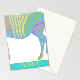 Zebra Zoom 8A Stationery Cards