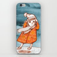 storm iPhone & iPod Skins featuring Storm by Alibabaform
